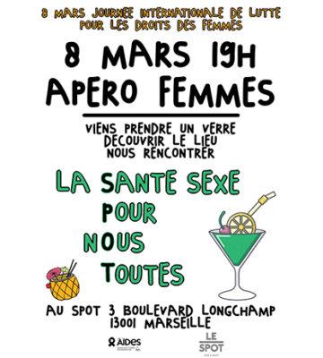 8 Mars 2019 Apéro Femmes