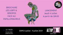 Exposition et la brochure Les LGBTI & Séropos – Le Pulse