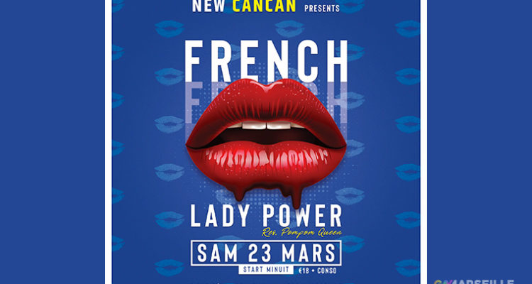 French Kiss – Lady Power au New Cancan