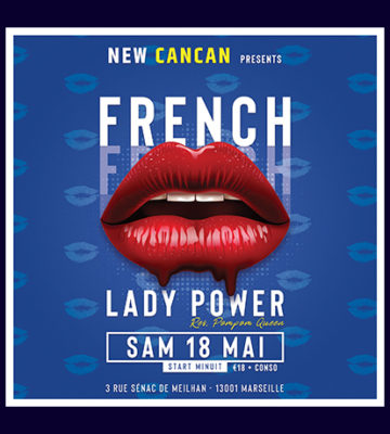 Soirée French Kiss au New Cancan