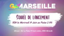 Lancement Gay-Marseille-Mercredi 19 Juin 2019