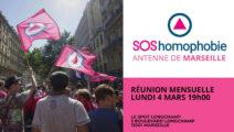 Réunion mensuelle publique Marseille