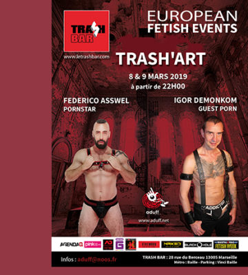 Trash art – 8 et 9 Mars 2019