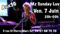 MZ SUNDAY LUV en performance Aux 3G!