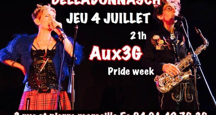 bar lesbien Marseille association soirées lesbiennes féministes homo Pride 3 rue Saint Pierre Marsei