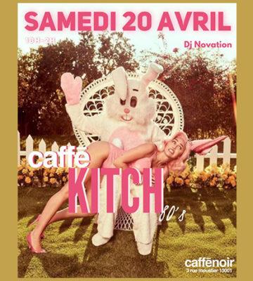 Caffé Kitch du mois d'Avril