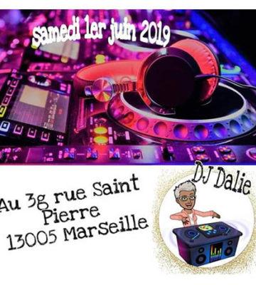 DJ Dalie – Bar Aux 3G Marseille
