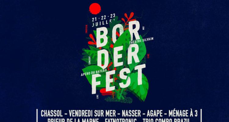 Le Festival Borderline à bord de l'Ilienne le Dimanche 21 Juillet 2019.
