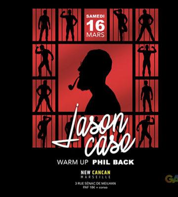 Jason Case au New Cancan