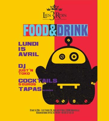 FOOD & DRINK au Restaurant les Trois Rois !