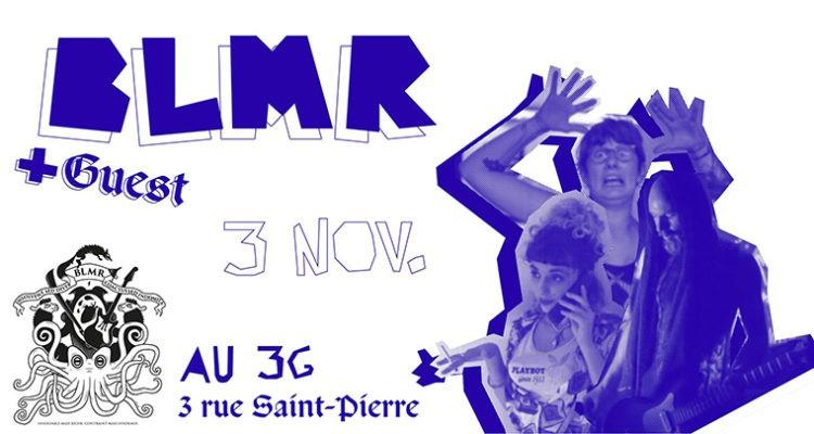 BLMR (live) + DJ boom boom dans ton cœur | AUX3G