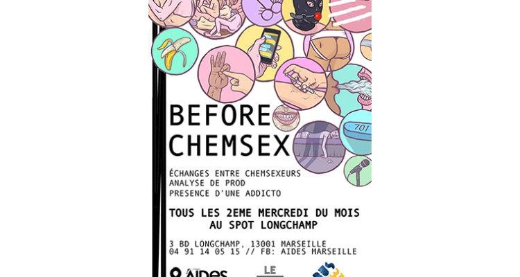 Before Chemsex chez Aides Marseille