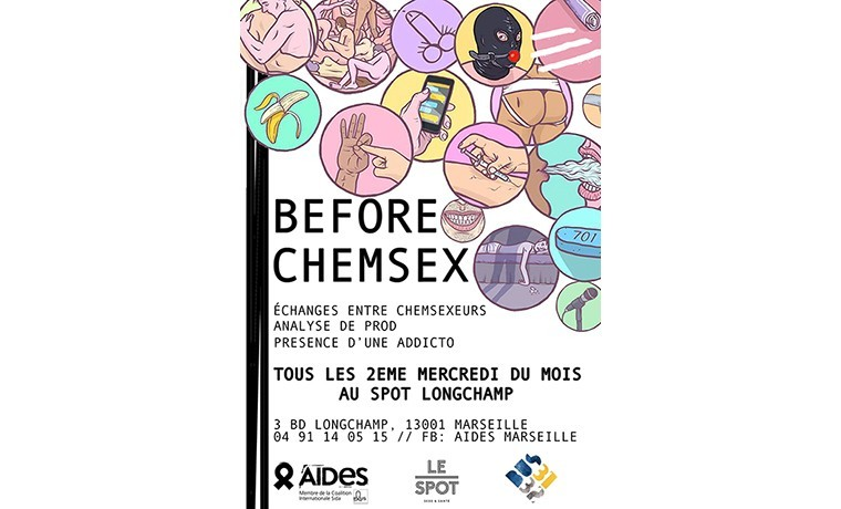 Before Chemsex chez Aides Marseille