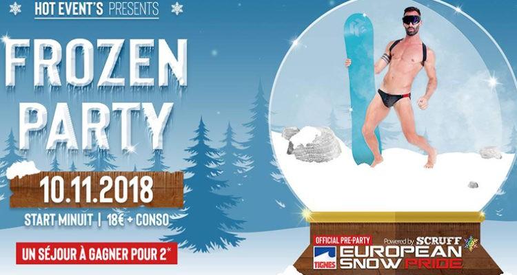 Frozen Party au New Cancan