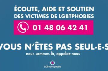 Numéro d'écoute, aide et soutien des victimes – SOS Homophobie