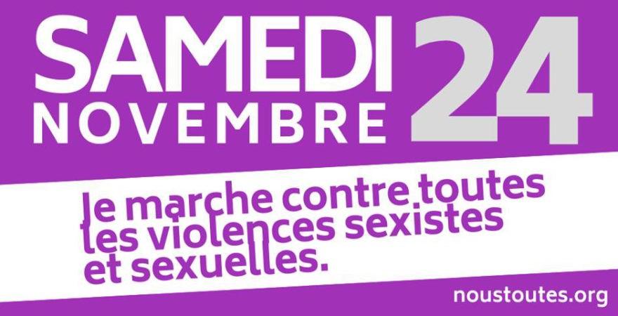 Marseille, je marche contre les violences sexistes et sexuelles