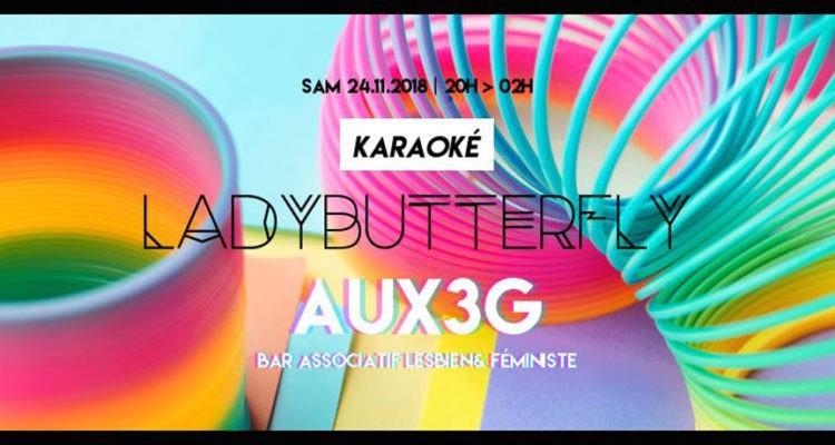 Karaoké w/ LadyButterfly | AUX3G