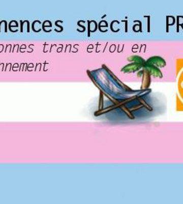 Permanences Transat spécial Proches de personnes trans (Décembre 2019)
