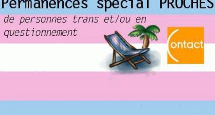Permanences Transat spécial Proches de personnes trans (Octobre 2019)