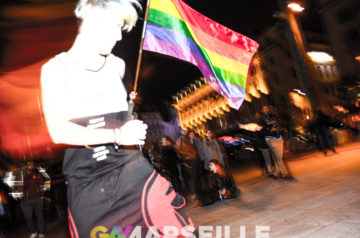 Photos – Mobilisation contre les LGBTQI+phobies Marseille