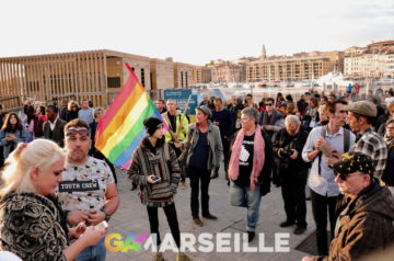 Photos suite – Mobilisation contre les LGBTQI+phobies Marseille