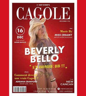 Soirée Cagoles avec Melle Beverly Bello