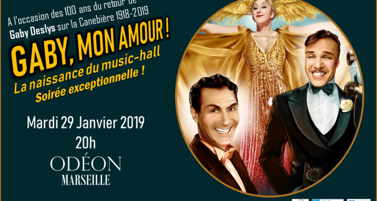 Spectacle – GABY, MON AMOUR !