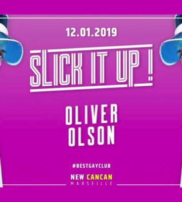 Oliver Olson au New Cancan