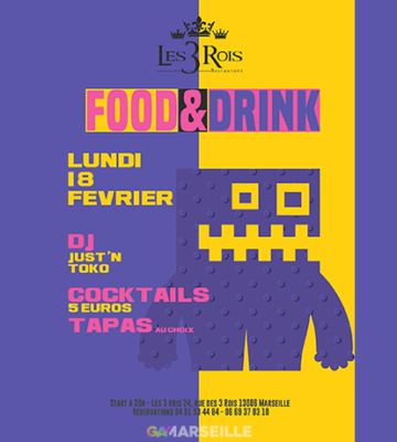 Food and Drink – Les Trois Rois