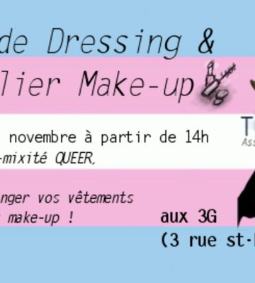 Vide-dressing participatif & atelier make-up de Transat (2e édition)