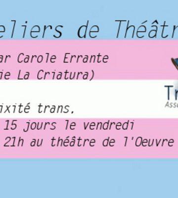 Ateliers de théâtre de Transat [mai 2019]