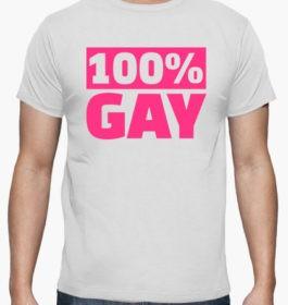 Tee-shirt 100% Gay