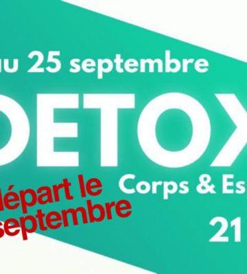 CHALLENGE DETOX – Corps & Esprit (Nouvelle génération)