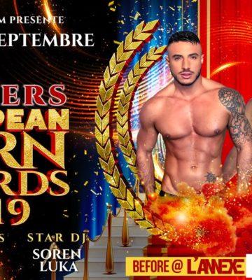 Winners Européan Porn Awards