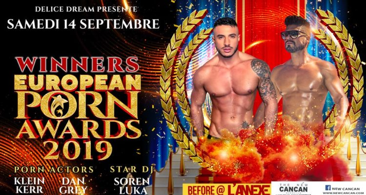 Winners Européan Porn Awards