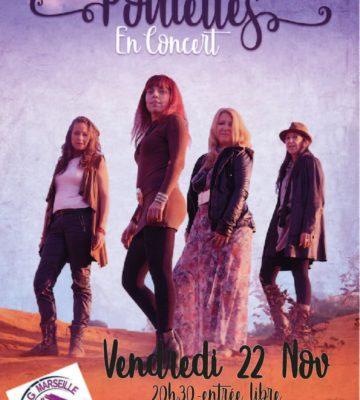 Concert gratuit des Poulettes