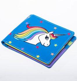 Portefeuille – Licorne Rainbow
