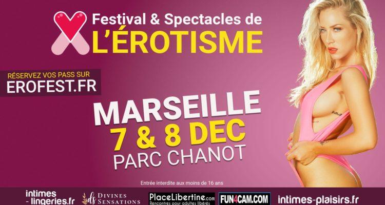 Festival de l'érotisme Erofest Marseille Parc Chanot