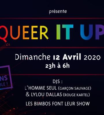 Soirée Queer It Up – GaySportMed