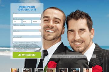 Lancement site de rencontre Gay sur Marseille