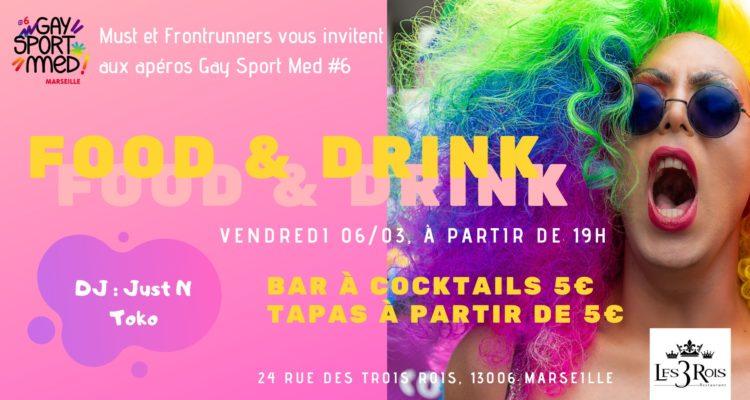 Apéro Mensuel GaySportMed au restaurant Les 3 Rois !