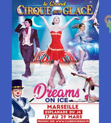 Cirque sur glace à Marseille – Spectacle Annulé